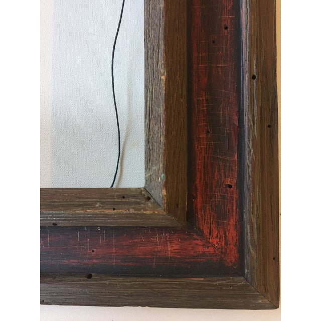Mid-Century Painted Wormwood Frame - Image 6 of 7