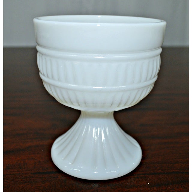 Milk Glass Compote Dish - Image 2 of 7