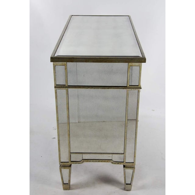 20th Century French 3-Drawer Mirrored Commode For Sale - Image 11 of 13