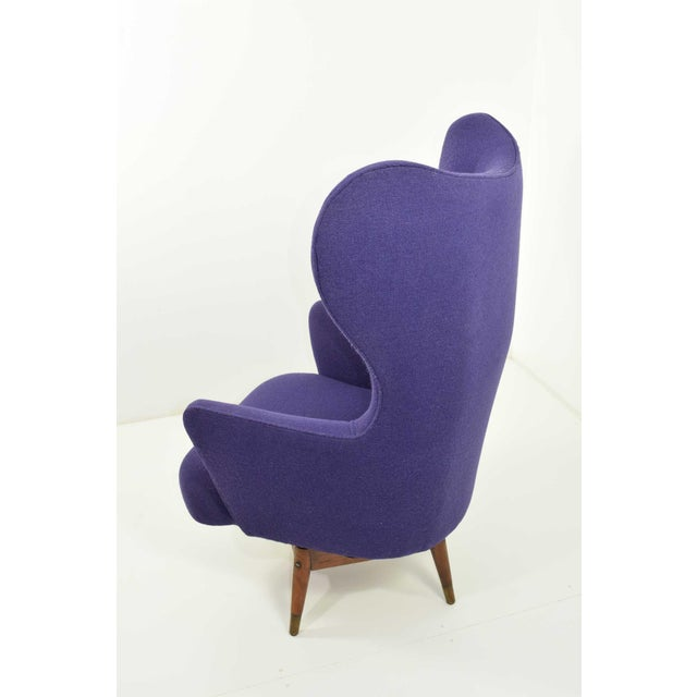 Mid-Century Danish Lounge Chair For Sale In Dallas - Image 6 of 9