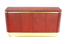 Image of Brick Red Credenzas and Sideboards