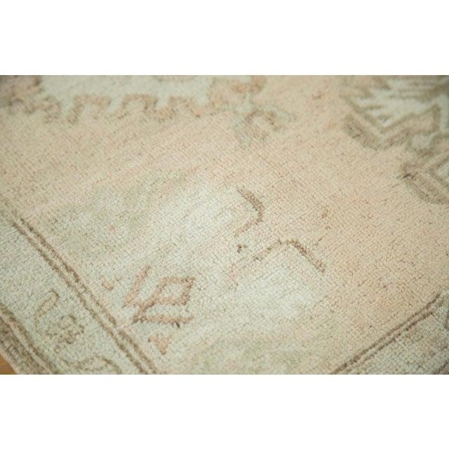 """Vintage Oushak Rug Mat Runner - 1'8"""" X 2'9"""" - Image 6 of 6"""