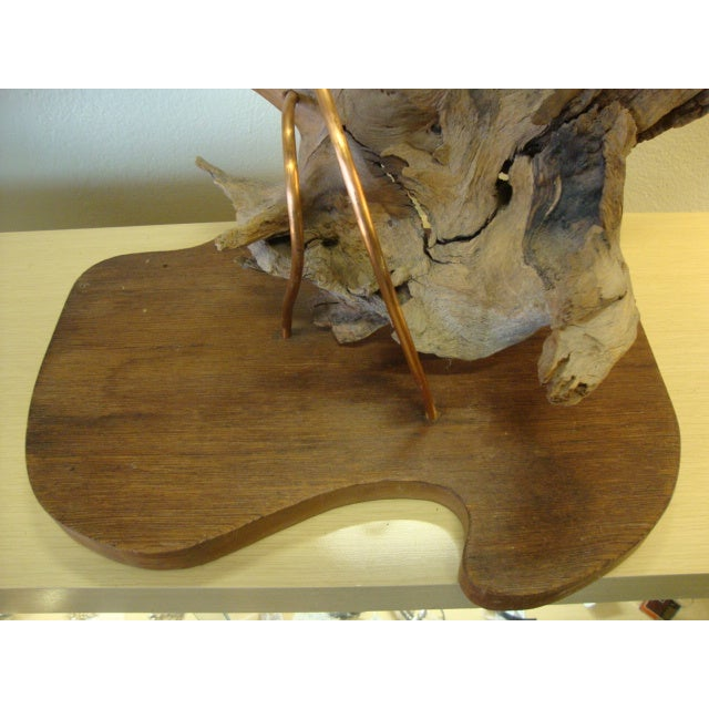 Mid-Century Driftwood Free Form Sculpture For Sale In New York - Image 6 of 7
