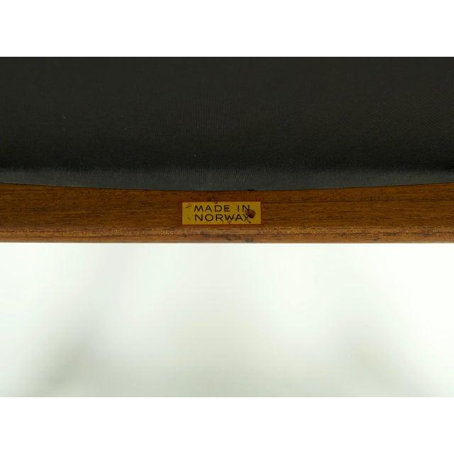 1950s Vintage Fredrik Kayser for Vatne Lenestolfabrik Model 711 Lounge Chair For Sale - Image 12 of 13