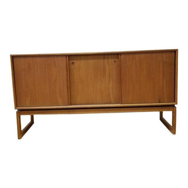 Mobler Mid Century Modern Floating Credenza | Chairish on floating tv stand modern, floating shelves modern, floating desk modern,