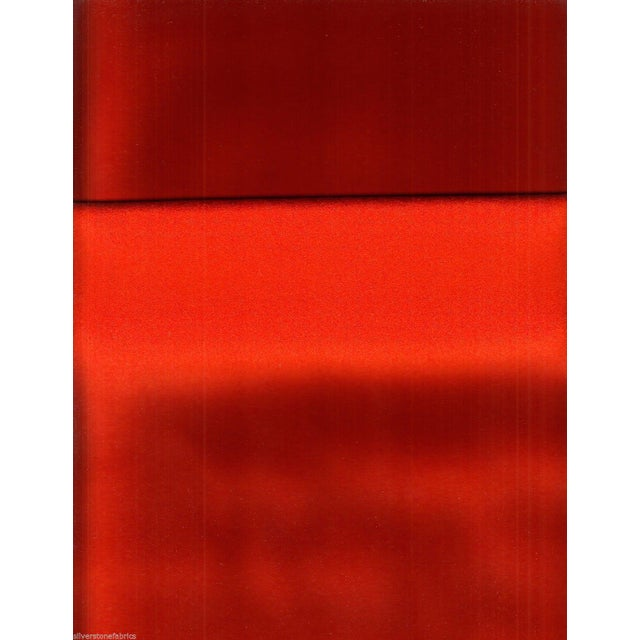 Maharam Kvadrat Orange Divina Wool Fabric - 1.625 Yards - Image 2 of 2