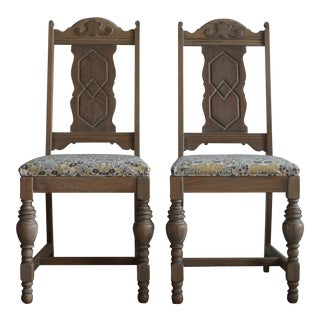 Antique Side Chairs - A Pair