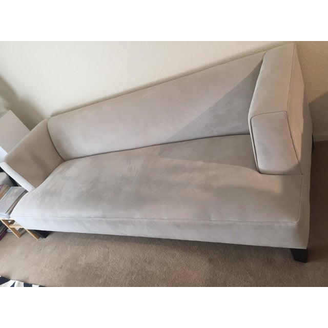 Contemporary Contemporary Room & Board Off-White Upholstered Couch For Sale - Image 3 of 6