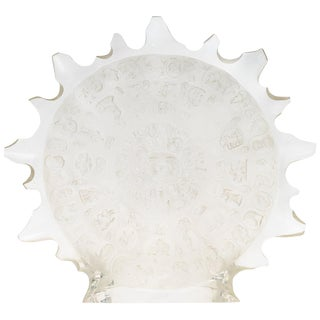 Lucite Sun Disc Sculpture C. 1980s For Sale
