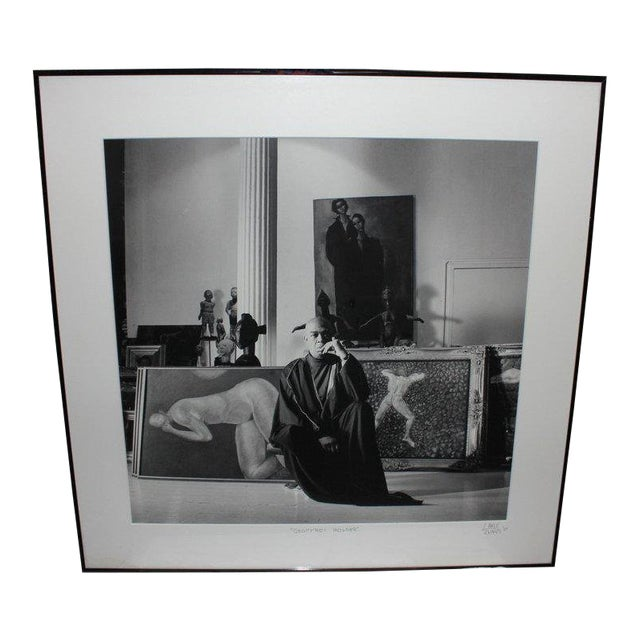 1987 Geoffrey Holder Photograph by Lance Evans For Sale