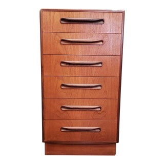 "Mid Century ""G-Plan"" Teak Chest of Drawers C.1960s For Sale"
