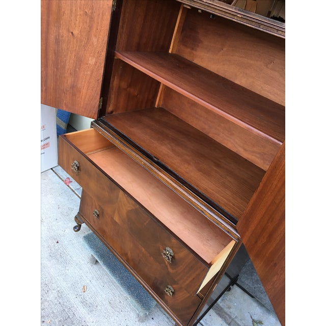 Vintage 1940s Tallboy Dresser For Sale In San Francisco - Image 6 of 8