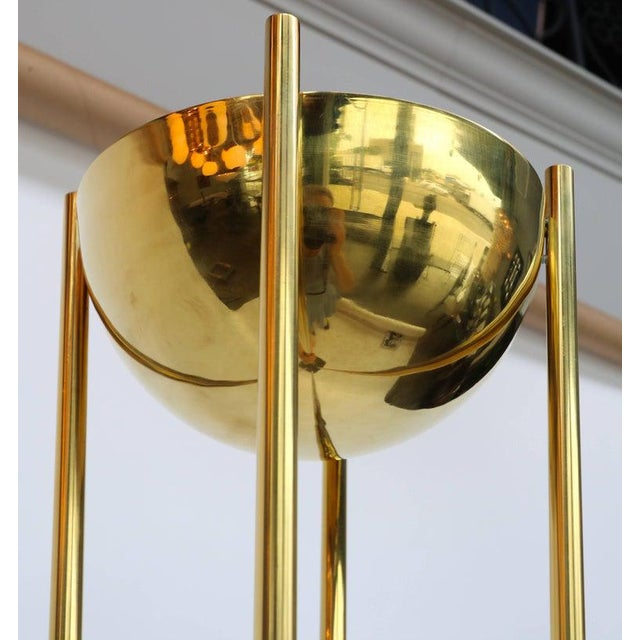 1970s Brass Torchères-A Pair For Sale - Image 5 of 6