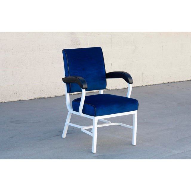 General Fireproofing Aluminum Tanker Armchair, Refinished For Sale In Los Angeles - Image 6 of 6