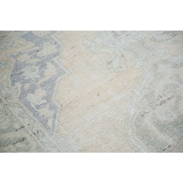 "Peach Distressed Oushak Carpet - 5'9"" x 9'6"" - Image 3 of 8"