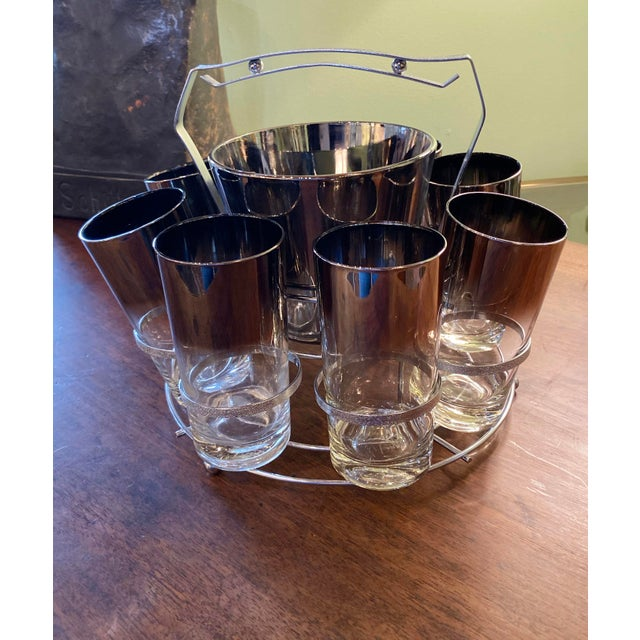 Mid-Century Modern Mid 20th Century Dorothy Thorpe Glassware Set - Set of 10 For Sale - Image 3 of 9