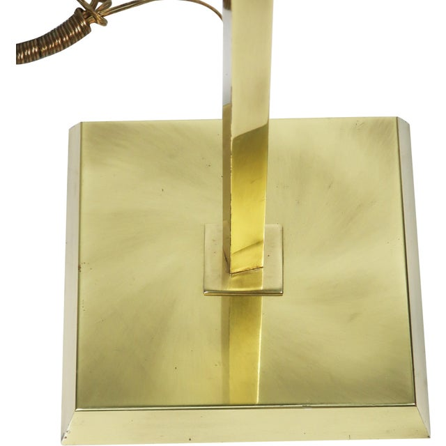 Contemporary Relco Milano 1980s Brass Torchiere For Sale - Image 3 of 10