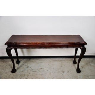 Vintage Queen Anne Console Table Preview