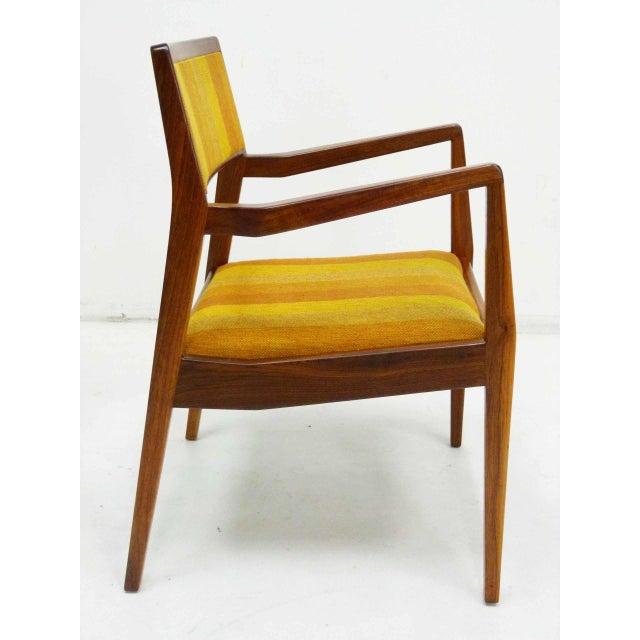 "Jens Risom Oiled Walnut ""Playboy"" Arm Chair - Image 3 of 10"