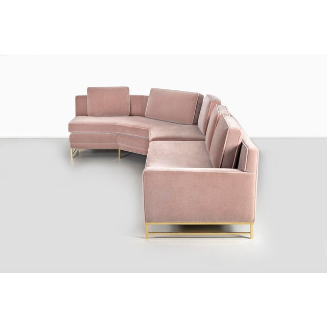 Mid-Century Modern Paul McCobb for Directional Sectional Sofa For Sale - Image 3 of 10