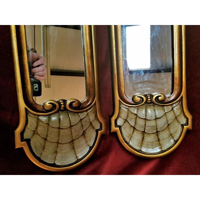 Early 20c Pair of Pier Mirrors by Thorvald Strom For Sale - Image 4 of 14