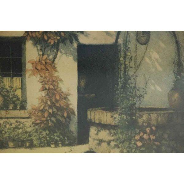 Framed Pastoral Home Print For Sale - Image 5 of 6