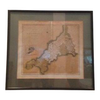 Original Cornwall County Map