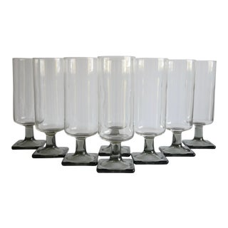 Mid-Century Collins Glasses, Set of 8 For Sale