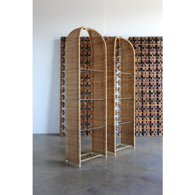Mid-Century Modern Danny Ho Fong for Tropi-Cal Etageres - A Pair For Sale - Image 3 of 11