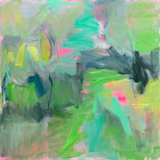"""""""Forest Floor"""" by Trixie Pitts Abstract Expressionist Oil Painting For Sale"""