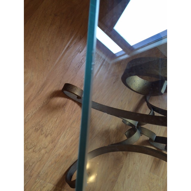 Regency Glass Top Side Accent Tables - A Pair For Sale In Washington DC - Image 6 of 7