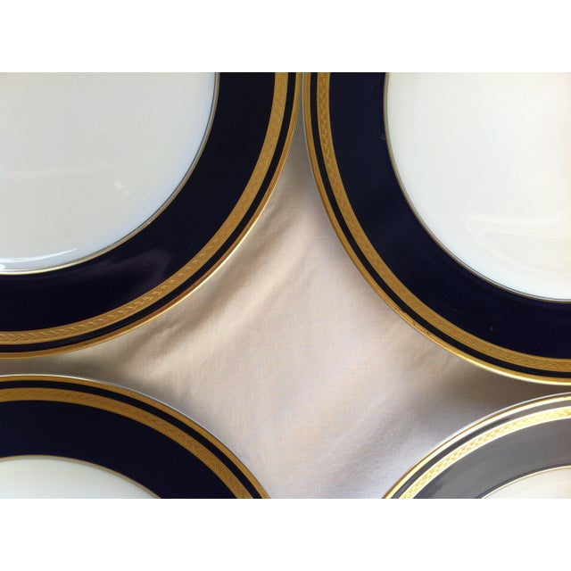 "Hutschenreuther ""Monarch"" China Plates - Set of 4 For Sale - Image 10 of 10"