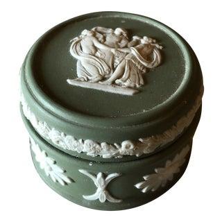Wedgwood Porcelain Trinket Box For Sale