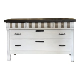 Solid Wooden 5-Drawer Dresser