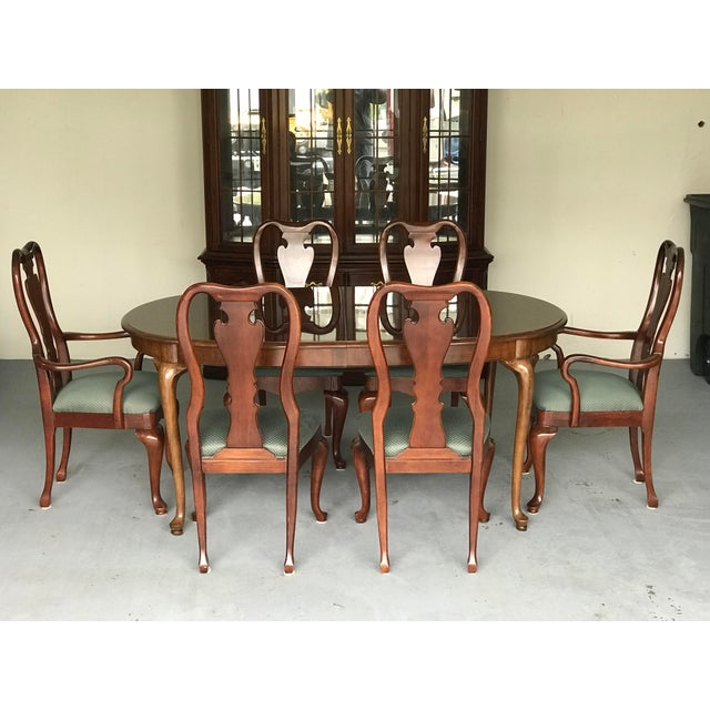 1970s Thomasville Queen Anne Dining Table For Sale - Image 12 of 13
