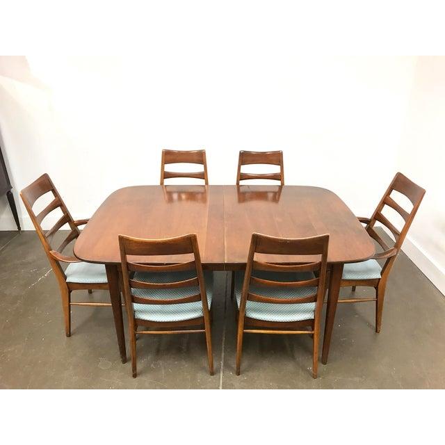 Mid-Century Heywood Wakefield Dining Set - Image 3 of 10