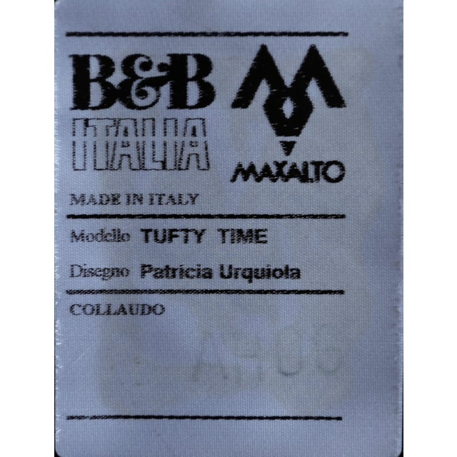 B&b Italia Tufty Time Leather Sofa by Patricia Urquiola For Sale - Image 9 of 10