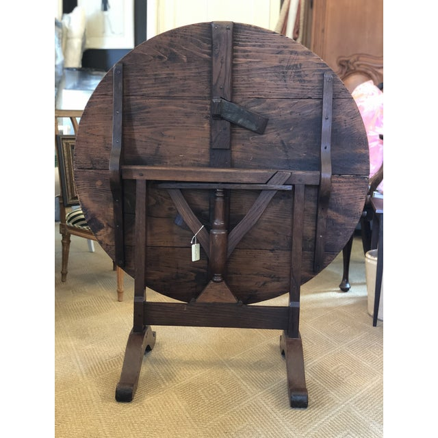 19th Century French Wine-Tasting Table For Sale - Image 4 of 8