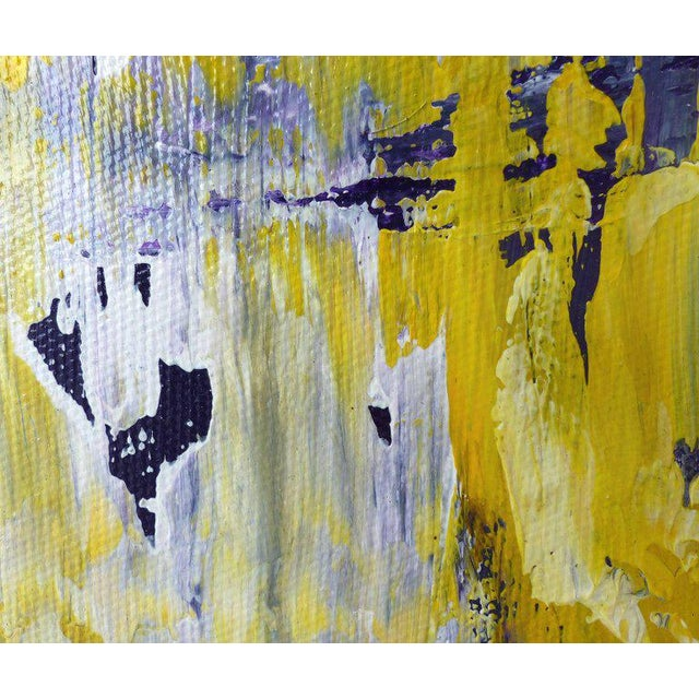 Abstract Painting by the Brazilian Artist Claudio Cardoso For Sale In Miami - Image 6 of 8