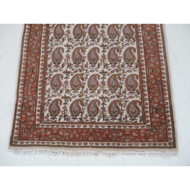 1960s Vintage Persian Area Rug - 2′11″ × 5′7″ For Sale - Image 10 of 13