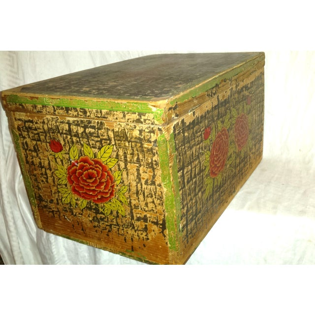 Traditional Lg. Victorian Fruit and Nut Delivery Box For Sale - Image 3 of 11