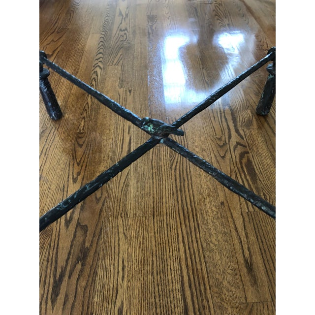 1960s Italian Cast Aluminum Dining Table For Sale - Image 11 of 13