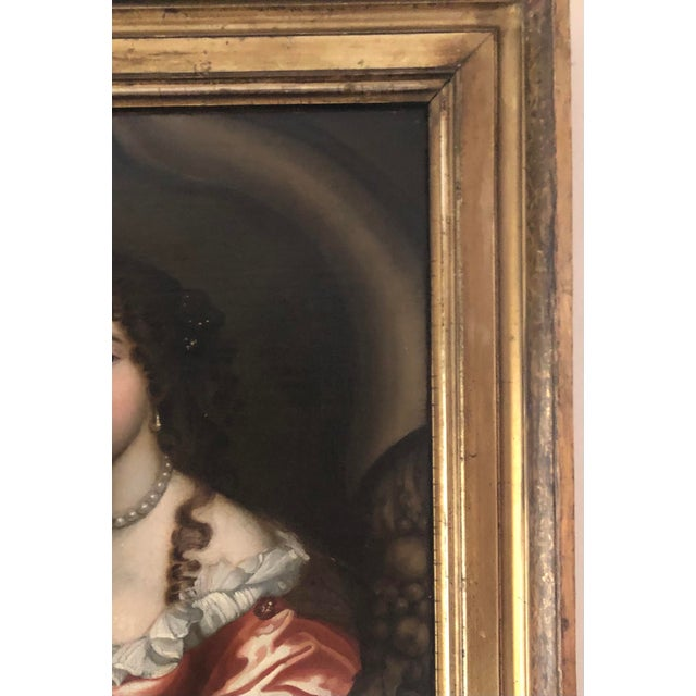 17th Century Oil on Canvas Painting For Sale In Minneapolis - Image 6 of 13