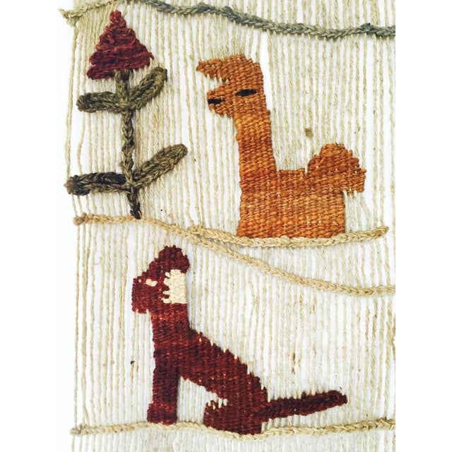 Vintage Peruvian Woven Wall Hanging - Image 6 of 6
