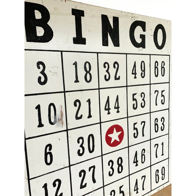 Make a statement in your play room / man cave with this salvaged BINGO hall sign, from an old church in Pennsylvania. A...
