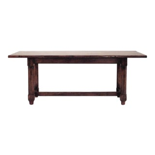 English Renaissance Style 20th Century Oak Refectory Table For Sale