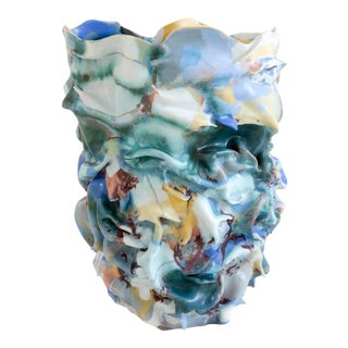 La Femme Au Chapeau Sculptural Porcelain Vase by Babs Haenen, Inspired by Henri Matisse For Sale