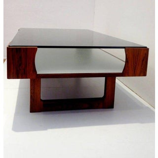 1970s Mid-Century Modern Torbjorn Afdal for Bruksbo Rosewood Coffee Table Preview