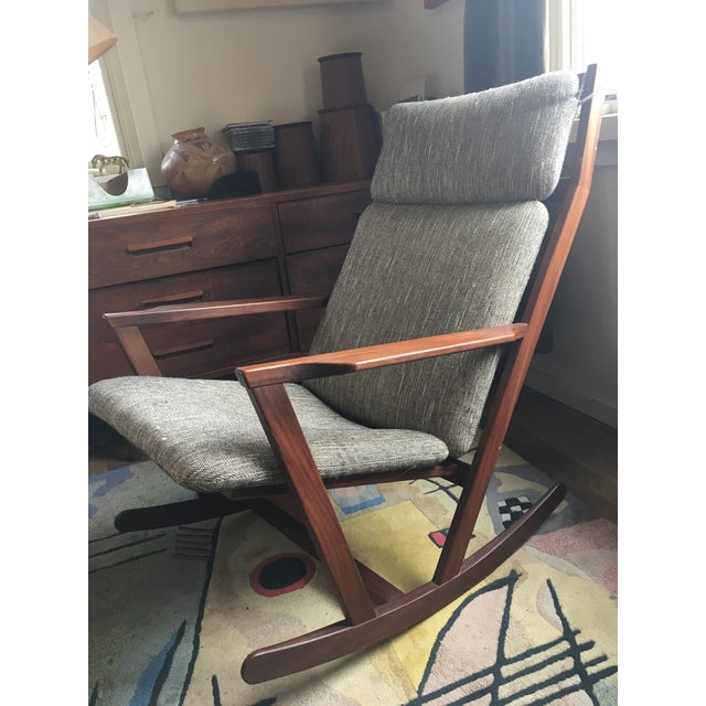 Poul Volther Rocking Chair For Sale - Image 9 of 9