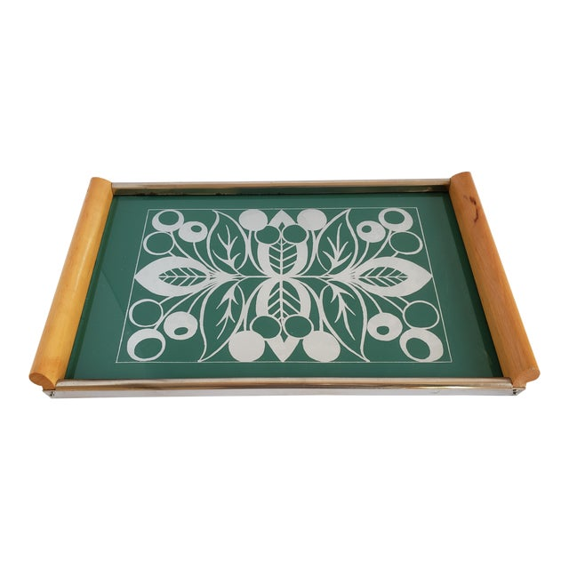 Mid Century Modern Serving Tray For Sale